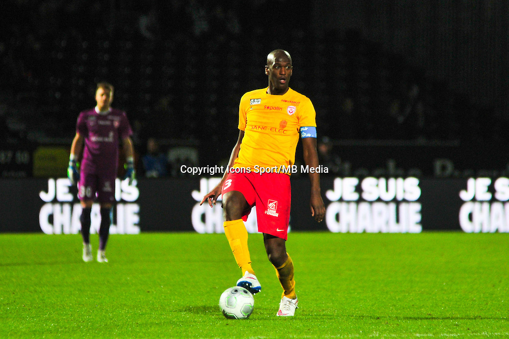 Joel Andre Sami  - 09.01.2015 - Angers / Nancy - 19eme journee de Ligue 2 <br /> Photo : Philippe Le Brech / Icon Sport