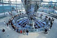 Allemagne, Berlin, Le dôme du Reichstag. //Reichstag Dome,  Berlin, Germany