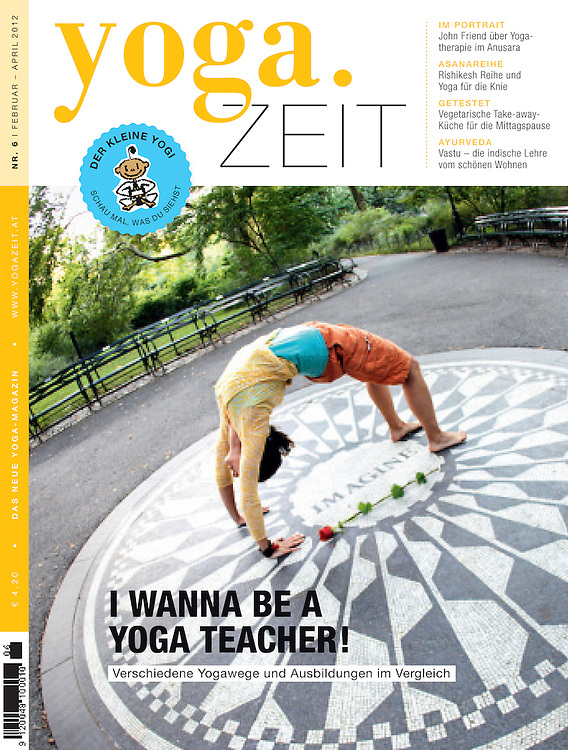 Yoga Zeit Magazine Cover Wari Om Yoga Photography