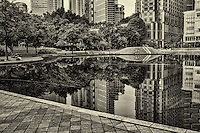 Pool Reflection, KLCC Park