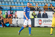 Eastleigh FC Striker James Constable during the Vanarama National League match between Southport and Eastleigh at the Merseyrail Community Stadium, Southport, United Kingdom on 17 December 2016. Photo by Pete Burns.