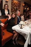 JEMIMA KHAN; GRAYDON CARTER, Vanity Fair Lunch hosted by Graydon Carter. 34 Grosvenor Sq. London. 14 May 2013