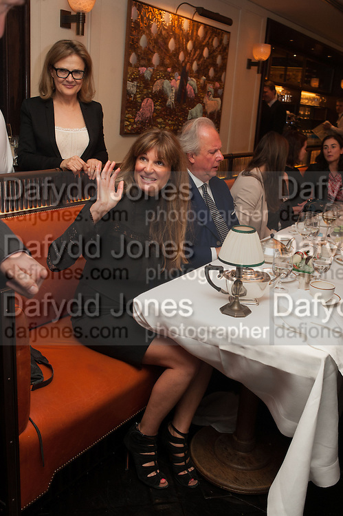 JEMIMA KHAN; GRAYDON CARTER, Vanity Fair Lunch hosted by Graydon Carter. 34 Grosvenor Sq. London. 14 May 2013