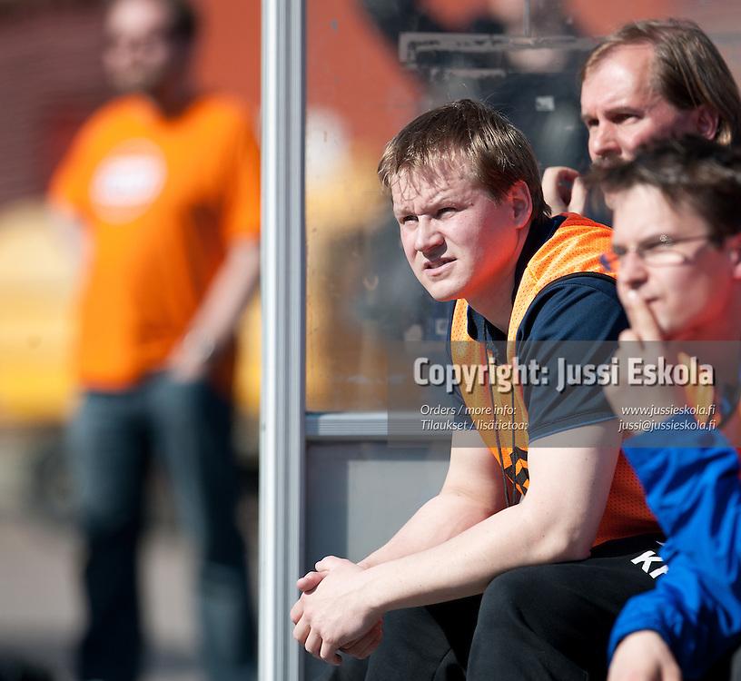 Kalle Huusko. HIFK - PS Kemi Kings. Ykkönen. Helsinki 21.5.2011. Photo: Jussi Eskola