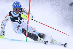 06.01.2015, Sljeme, Zagreb, CRO, FIS Weltcup Ski Alpin, Zagreb, Herren, Slalom, 1. Lauf, im Bild Stefano Gross (ITA) // Stefano Gross of Italy in action during 1st run of men's Slalom of FIS Ski Alpine Worldcup at the Sljeme in Zagreb, Croatia on 2015/01/06. EXPA Pictures © 2015, PhotoCredit: EXPA/ Pixsell/ Goran Stanzl<br /> <br /> *****ATTENTION - for AUT, SLO, SUI, SWE, ITA, FRA only*****