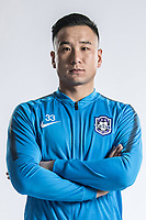 **EXCLUSIVE**Portrait of Chinese soccer player Teng Shangkun of Tianjin TEDA F.C. for the 2018 Chinese Football Association Super League, in Tianjin, China, 28 February 2018.