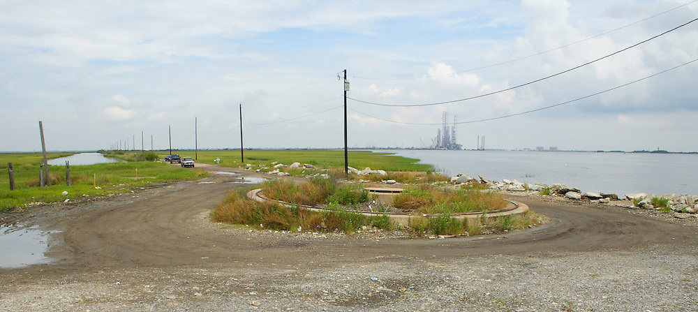 Texas Point, End of Sabine Pass