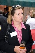 CAROLINE KENNY; CLUTTONS, Archant Summer party. Kensington Roof Gardens. London. 7 July 2010. -DO NOT ARCHIVE-© Copyright Photograph by Dafydd Jones. 248 Clapham Rd. London SW9 0PZ. Tel 0207 820 0771. www.dafjones.com.
