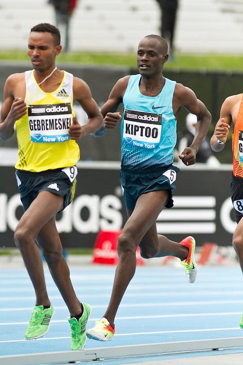 adidas Grand Prix Diamond League professional track & field meet: mens 5000 meters, Mark Kosgei KIPTOO, Kenya
