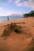 Sandcastle, Maui, Hawaii, USA<br />