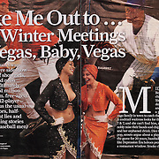 Sports Illustrated story on Major League Baseball's meetings in Las Vegas