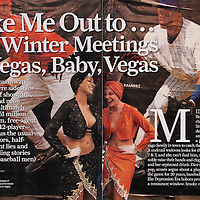Sports Illustrated story on Major League Baseball's meetings in Las Vegas
