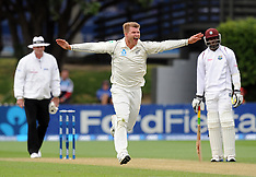 Wellington-Cricket, New Zealand v West Indies, 2nd test, day 2