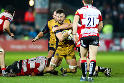 Jon Fisher of Bristol Rugby - Rogan Thomson/JMP - 03/12/2016 - RUGBY UNION - Kingsholm Stadium - Gloucester, England - Gloucester Rugby v Bristol Rugby - Aviva Premiership.