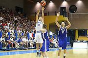 LIGNANO SABBIADORO, 11 LUGLIO 2015<br /> BASKET, EUROPEO MASCHILE UNDER 20<br /> ITALIA-FRANCIA<br /> NELLA FOTO: Marco Spissu<br /> FOTO FIBA EUROPE/CASTORIA