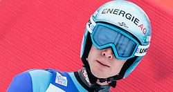 03.01.2016, Bergisel Schanze, Innsbruck, AUT, FIS Weltcup Ski Sprung, Vierschanzentournee, Bewerb, im Bild Michael Hayboeck (AUT) // Michael Hayboeck of Austria reacts after his Competition Jump of Four Hills Tournament of FIS Ski Jumping World Cup at the Bergisel Schanze, Innsbruck, Austria on 2016/01/03. EXPA Pictures © 2016, PhotoCredit: EXPA/ JFK