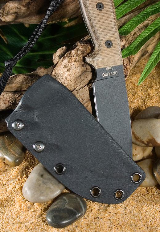 Custom kydex sheath for RAT-3 by Invictus Kydex.