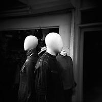 Shop dummies, Camden. London