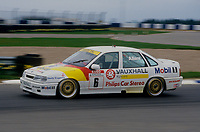 #6 Jeff Allam Vauxhall Sport Vauxhall Cavalier  during Round 1of the 1991 British Touring Car Championship at Silverstone, Towcester, Northamptonshire, United Kingdom. 1st April 1991, World Copyright Peter Taylor/PSP. Copy of publication required for printed pictures.