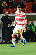 Andrew Butler of Doncaster Rovers  during the Sky Bet League 1 match between Doncaster Rovers and Chesterfield at the Keepmoat Stadium, Doncaster, England on 24 November 2015. Photo by Ian Lyall.