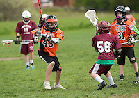 Lakes Region Lacrosse U11 boys versus Keene's Orange Crush May 11, 2012.