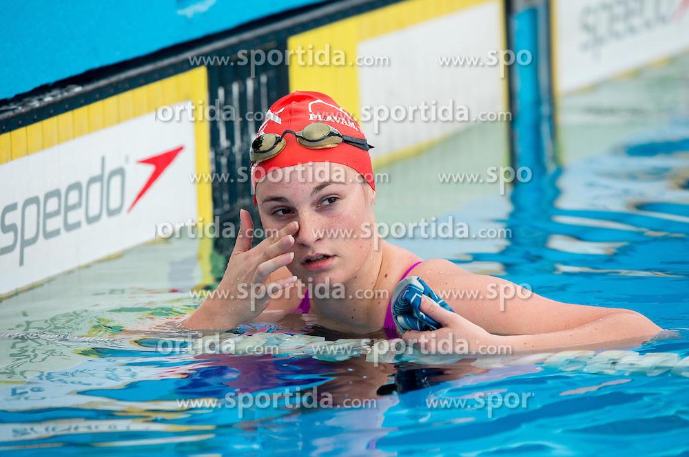 Silvija Djelic  of PK Ilirija during international swimming competition 34th MM Ilirija 2014 on May 11, 2014, in Pool Ilirija, Ljubljana, Slovenia. Photo by Vid Ponikvar / Sportida
