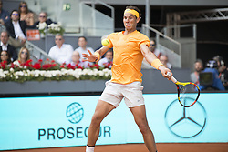 May 11, 2018 - Madrid, Spain - RAFAEL NADAL in a match against DOMINIC THIEM during the quarter finals of Mutua Madrid Open 2018 - ATP in Madrid. DOMINIC THIEM won the match 7-5(3) 6-3. (Credit Image: © Patricia Rodrigues via ZUMA Wire)