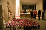 Tudor presentation. Triennale Museum of Milan. Milan. 29 September 2008 *** Local Caption *** -DO NOT ARCHIVE-© Copyright Photograph by Dafydd Jones. 248 Clapham Rd. London SW9 0PZ. Tel 0207 820 0771. www.dafjones.com.