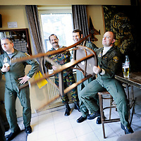 Kleine Brogel, Belgium 14 March 2008<br /> 31 Tiger squadron of the Belgian Air Force. <br /> The primary task of the squadron is taking out ground targets by 'dumb' unguided bombs or by precision bombardments, this during day and night.<br /> Also a great part of training is dedicated to &quot;air-to-air engagements&quot; (intercepting / destroying of hostile aircraft), to be able to operate under every conflict-scenario.<br /> Photo: Ezequiel Scagnetti
