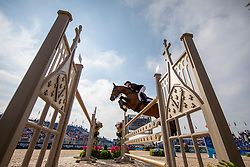 DERBYSHIRE Amanda (GBR), Luibanta BH<br /> Tryon - FEI World Equestrian Games™ 2018<br /> FEI World Individual Jumping Championship<br /> Third cometition - Round A<br /> 3. Qualifikation Einzelentscheidung 1. Runde<br /> 23. September 2018<br /> © www.sportfotos-lafrentz.de/Stefan Lafrentz