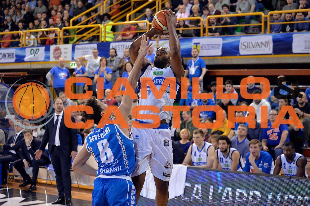 Marcus Landry<br /> Germani Basket Brescia Leonessa - Banco di Sardegna Dinamo Sassari <br /> Lega Basket Serie A 2016/2017<br /> Montichiari, 05/02/2017<br /> Foto Ciamillo-Castoria