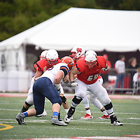 October 29,2016 - Napierville, IL,US - CCIW: North Central (NCIL) vs Carroll (CARR)  at Benedetti-Wehrli Stadium in Napierville IL. Cardinals remain undefeated after a very impressive win over the winless Pioneers.