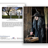 Witch Halloween Greeting Card<br /> 5x7 Greeting Card 100% Recycled Paper