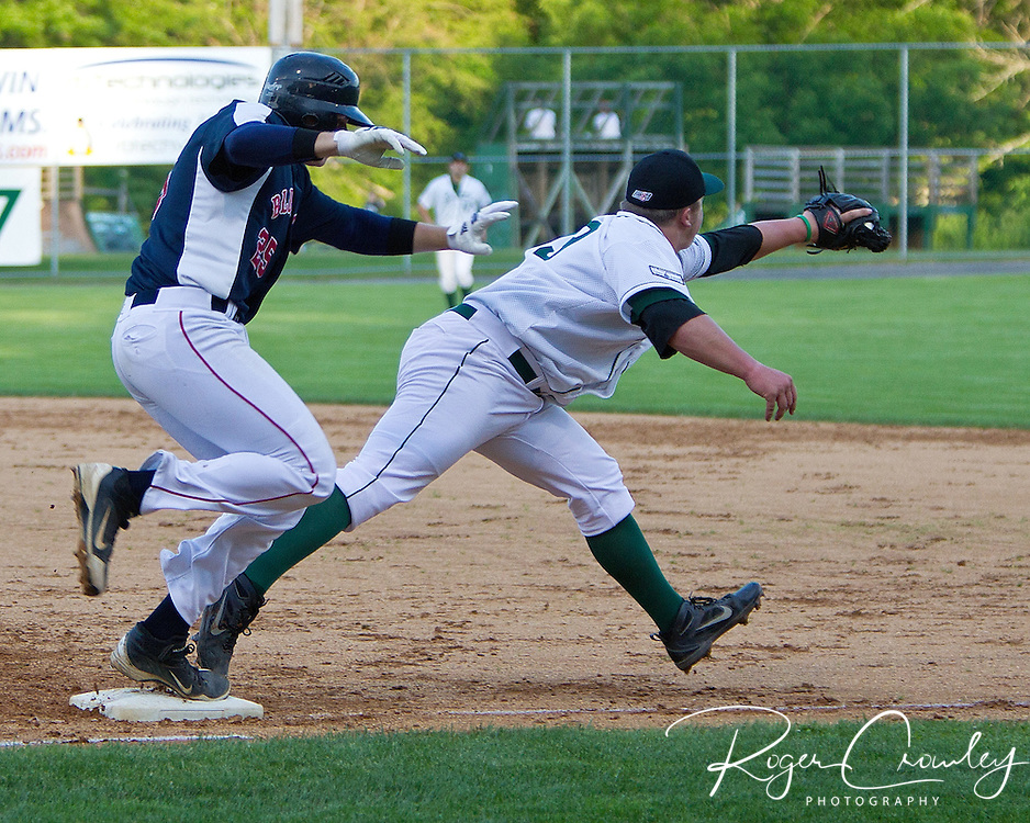 """Starting pitcher Nolan Snell (Albequerque, N.M/Mesa State) pitched six innings of scoreless, one-hit baseball to help propel the Vermont Mountaineers to a 5-1 victory over the Holyoke Blue Sox in New England Collegiate Baseball League action on Saturday night at Montpelier Recreation Field. It was the home opener for the Mountaineers who picked up their first win of the season and improved to 1-2 on the year."" -Christian Heimall"
