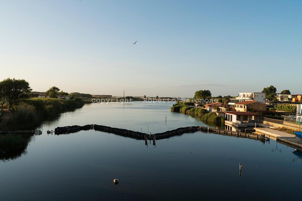 Litorale Domizio, Lago Patria - Veduta di Lago Patria sul litorale domizio.<br /> Ph. Roberto Salomone