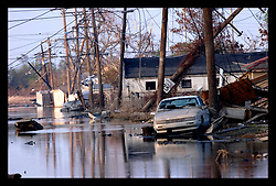 30th Sept, 2005. Hurricane Katrina aftermath, New Orleans, Louisiana. Lower 9th ward. The remnants of the lives of ordinary folks, now covered in mud as the flood waters recede.