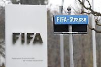 Fotball<br /> Foto: imago/Digitalsport<br /> NORWAY ONLY<br /> <br /> Die FIFA-Zentrale am 21.03.2015 in Zürich Die FIFA ( Internationale de Football Association ) ist der Weltfußballverband mit Sitz in Zürich. Die FIFA organisiert Fußballwettbewerbe, darunter die Männer- und die Frauen-Fußball WM. Der Präsident ist Sepp Blatter.
