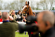 Champs De Reves ridden by David Probert and trained by Michael Blake in the F45 Bath Training Guaranteed Results Handicap race.  - Ryan Hiscott/JMP - 06/05/2019 - PR - Bath Racecourse- Bath, England - Kids Takeover Day - Monday 6th April 2019