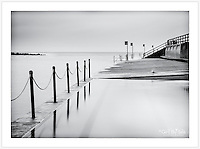 A long exposure, very early on an overcast summer morning at Clovelly pool [Clovelly, NSW]<br />