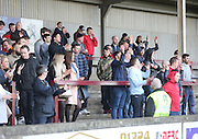 Fairfield fans - Harvester v Fairfield - Fosters Scottish Sunday Trophy semi final<br /> <br />  - &copy; David Young - www.davidyoungphoto.co.uk - email: davidyoungphoto@gmail.com