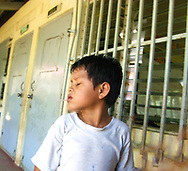 Boy at a primary school in a rural area outside Granada Nicaragua.