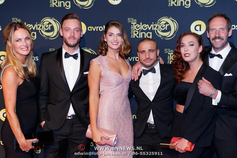 NLD/Amsterdam/20181011 - Televizier Gala 2018, Expeditie Robinson 2018 - Onbekenden