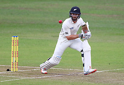 Kane Williamson during day two of the first test match between South Africa and New Zealand held at the Kingsmead stadium in Durban, KwaZulu Natal, South Africa on the 20th August 2016<br /> <br /> Photo by:   Anesh Debiky / Real Time Images