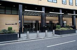 UK ENGLAND LONDON 21APR16 - Deutsche Bank UK  headquarters in the City of London.<br /> <br /> jre/Photo by Jiri Rezac<br /> <br /> © Jiri Rezac 2016