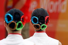 20080807 Olympics Beijing 2008, Velkomstceremoni for de danske atleter i den Olympiske by