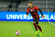 Flamengo midfielder Everton Ribeiro (7) in action during a Florida Cup match at Orlando City Stadium on Jan. 10, 2019 in Orlando, Florida. <br /> Flamengo won in penalties 4-3.<br /> <br /> ©2019 Scott A. Miller