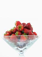Bowl full of Strawberries