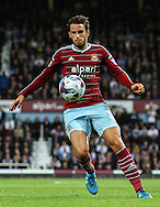 Diego Poyet of West Ham United during the Capital One Cup match at the Boleyn Ground, London<br /> Picture by David Horn/Focus Images Ltd +44 7545 970036<br /> 26/08/2014