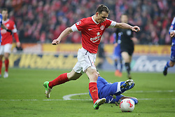 16.02.2013, Coface Arena, Mainz, GER, 1. FBL, 1. FSV Mainz 05 vs FC Schalke 04, 22. Runde, im Bild v.l.: Zdenek Pospech (MZ) erzielt die Fuehrung // during the German Bundesliga 22th round match between 1. FSV Mainz 05 and FC Schalke 04 at the Coface Arena, Mainz, Germany on 2013/02/16. EXPA Pictures © 2013, PhotoCredit: EXPA/ Eibner/ Matthias Neu ***** ATTENTION - OUT OF GER *****