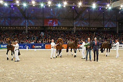 Krack C, United, Bordeaux, Ferdeaux<br /> KWPN Stallion Selection - 's Hertogenbosch 2014<br /> © Dirk Caremans